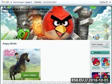 Zrzut strony Angry Birds Online
