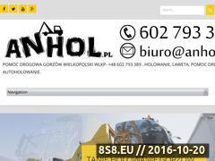 Miniaturka www.anhol.pl (Pomoc drogowa Gorzów)