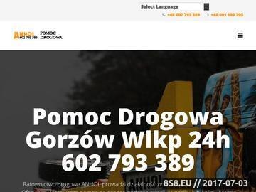 Zrzut strony 602 793 389 pomoc drogowa Gorzów