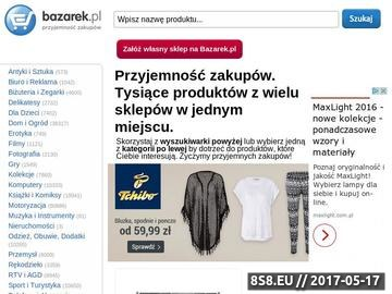 Zrzut strony AniBazarek.pl-Internetowy sklep z oświetleniem