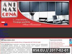Miniaturka domeny www.animaxokna.pl