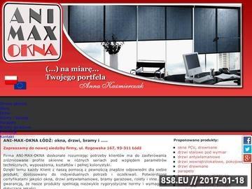 Zrzut strony Okna PCV Łódź
