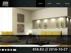 Miniaturka domeny www.annainteriors.pl