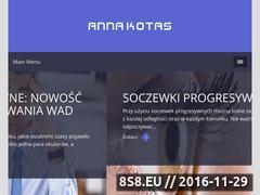 Miniaturka domeny www.annakotas.pl