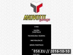 Miniaturka Producent samochodów i przyczep gastronomicznych (anovotti.pl)