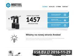 Miniaturka domeny www.ansteel.pl