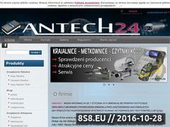 Miniaturka domeny www.antech24.pl