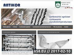 Miniaturka domeny antikor.pl