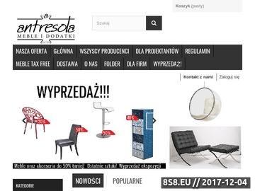 Zrzut strony Sklep meblowy Białystok