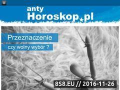 Miniaturka www.antyhoroskop.pl (Horoskopy - spojrzenie naukowe)