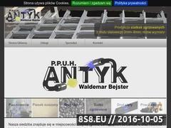 Miniaturka domeny antyk-bejster.pl