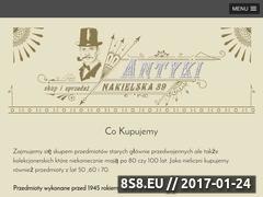 Miniaturka domeny antykibydgoszcz.com