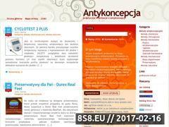 Miniaturka domeny antykoncepcja.praktyczne.info.pl