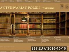 Miniaturka domeny antykwariatpolski.pl