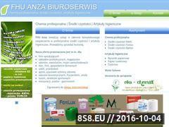 Miniaturka domeny www.anza-biuro.pl
