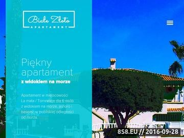 Zrzut strony Wakacje La Mata, Torrevieja - Apartamenty