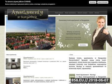 Zrzut strony Apartamenty-Hotel, Stargard Szczeciński