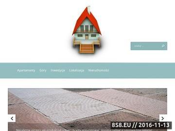 Zrzut strony Apartamenty Zakopane