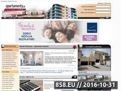 Miniaturka domeny www.apartamenty.pl