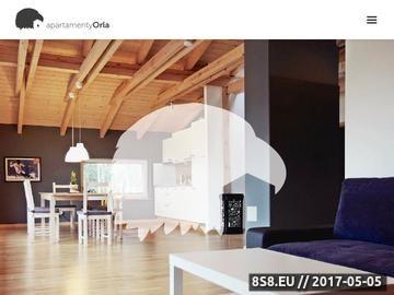 Zrzut strony Apartamenty Orla - noclegi w Szczyrku