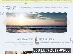 Miniaturka domeny www.apartamentyusteckie.pl