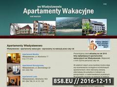 Miniaturka domeny www.apartamentywewladyslawowie.eu