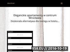 Miniaturka domeny apartamentywroclawskie24.pl