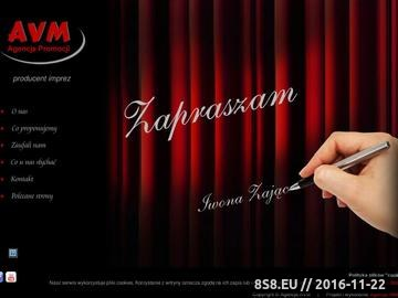 Zrzut strony Agencja Promocji AVM