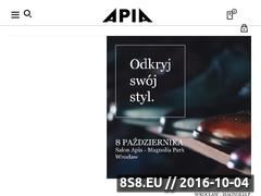 Miniaturka domeny apia.pl