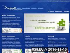 Miniaturka domeny www.apisoft.pl