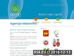 Miniaturka domeny www.aplan.media.pl