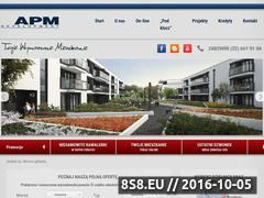 Miniaturka domeny apm-development.com.pl