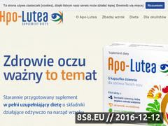 Miniaturka domeny apo-lutea.pl