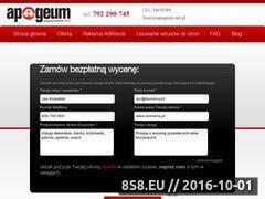 Miniaturka domeny www.apogeum.net.pl