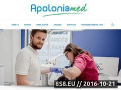 Miniaturka domeny apolonia-med.pl