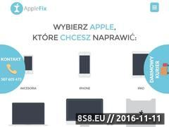 Miniaturka www.applefix.pl (AppleFix Wrocław - iPhone, iPad , Macbook i Ipod - serwis Apple)