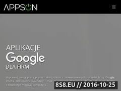 Miniaturka www.appson.pl (Poczta dla firm)