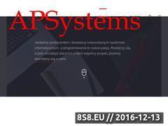 Miniaturka domeny apsystems.pl