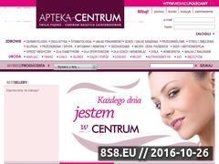 Miniaturka domeny www.apteka-centrum.pl