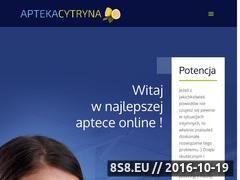 Miniaturka domeny www.aptekacytryna.pl