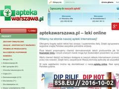 Miniaturka www.aptekawarszawa.pl (Apteka Warszawa Vitapil)