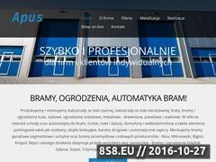Miniaturka domeny www.apus.comweb.pl