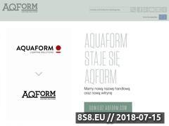 Miniaturka domeny aqform.com