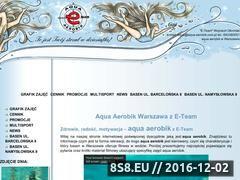 Miniaturka domeny www.aqua-aerobik.com.pl