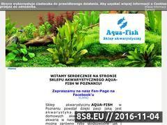 Miniaturka domeny www.aqua-fish.pl