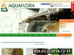 Miniaturka domeny www.aquaflora.pl