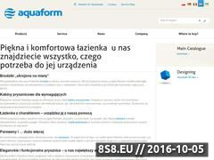 Miniaturka domeny www.aquaform.com.pl