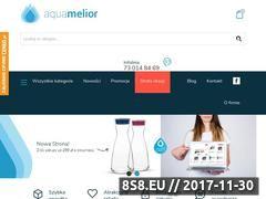 Miniaturka aquamelior.pl (Filtry do wody)