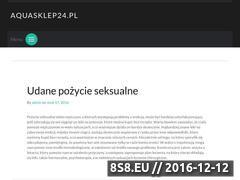 Miniaturka aquasklep24.pl (Sklep akwarystyczny - rośliny akwariowe)