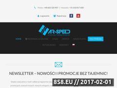 Miniaturka domeny www.ar-speed.pl